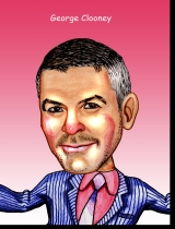 Illustration George Clooney